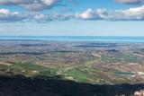 Panorama of the hills of San Marino Rimini - 240995199