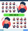 flat type school boy gakuran_icon
