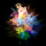 Modern Colorful Paint Splash Explosion - 241027726