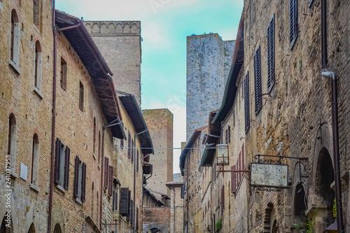 San Gimignano, Siena, Tuscany, Italy - 241037958