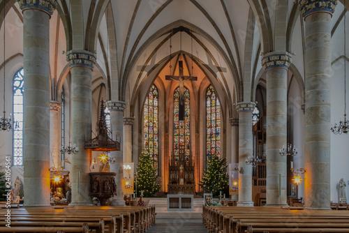 Leinwanddruck Bild Kirche St. Agatha, Gronau-Epe