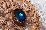 Sardinian Jewelry Macro Close-up Photo