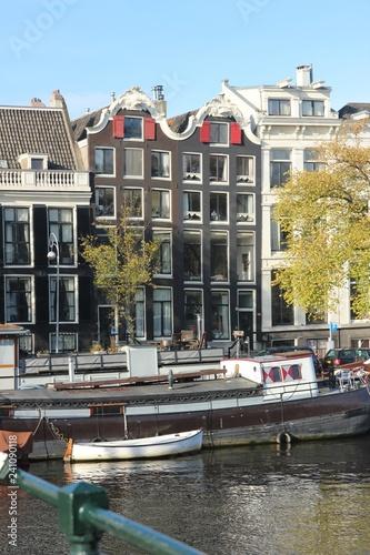 Häuser in Amsterdamm - Fluss