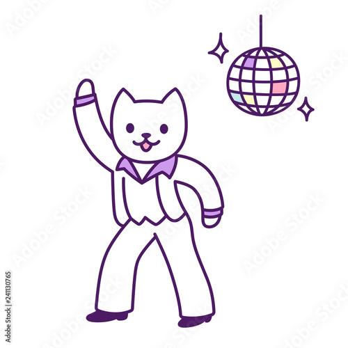 Disco dancer cat - 241130765