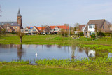 Traditional Dutch village Ooij, Netherlands