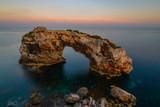Es Pontas natural rock arch, Majorca, Spain - 241168778