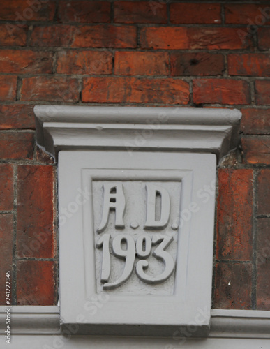 Date on Building 1903
