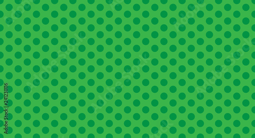 Green Polka Dot Background
