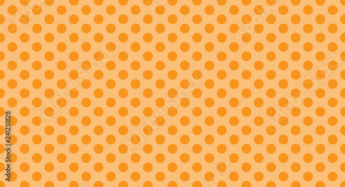 Orane Polka Dot Background