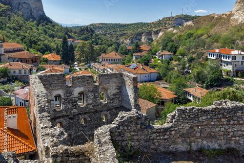 Panoramic view of town of Melnik, Blagoevgrad region, Bulgaria - 241239955