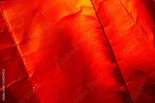 Abstract Texture Foil Shiny Background in Red - 241240123