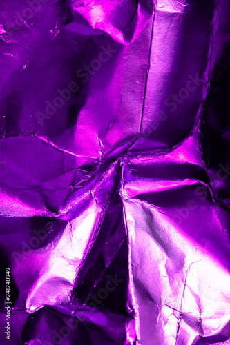 Abstract Texture Foil Shiny Background Purple,  - 241240949