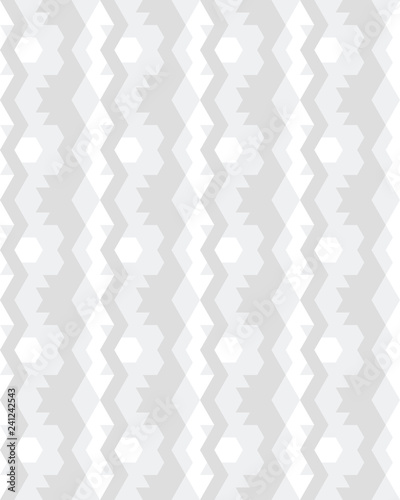 Vector seamless template, modern geometric background, repeating pattern - 241242543