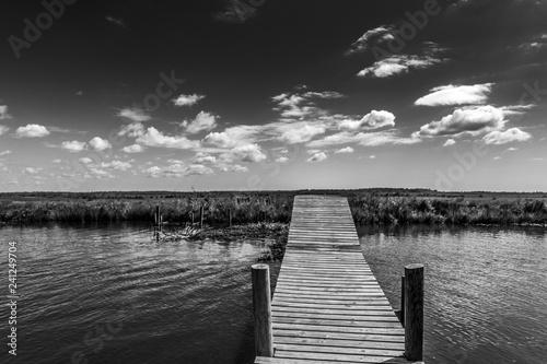 Acrylglas Pier Louisiana, dintorni di New Orleans (USA)