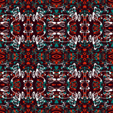 colored seamless pattern. Vintage elements illustration