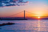 兵庫県・明石海峡の朝日