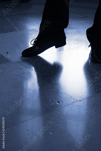Ballroom male dancer dancing - 241280378
