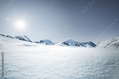 Poster Schneelandschaft