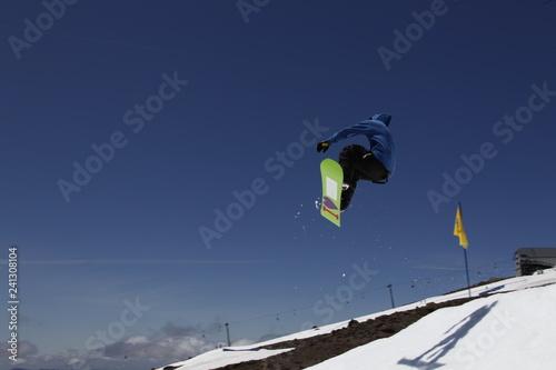 mata magnetyczna snowboard jumper