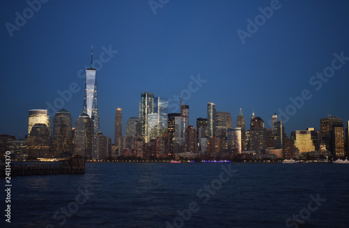 Financial District, NYC at Night -6
