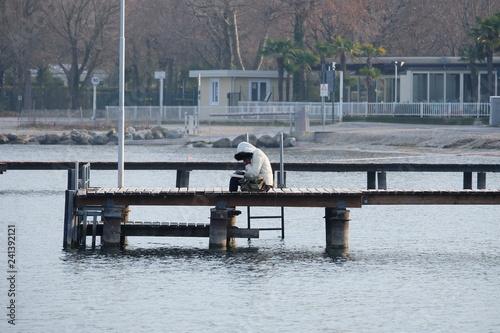 Acrylglas Pier Lago di Garda