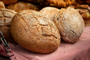 Beautiful handmade bread