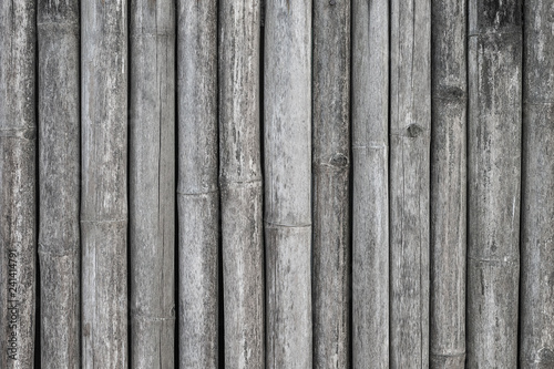 bamboo wall background from nature.