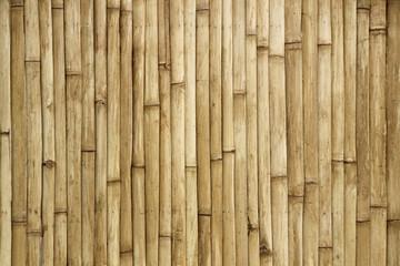 bamboo fence texture background © jamroenjaiman