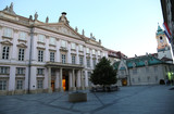 Ancient Town Hall of Bratislava City in Slovakia Europe