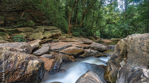 Cliff Rock Waterfall