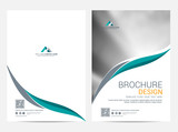 Brochure template flyer design vector background - 241448511