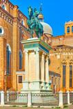 Equestrian statue of Bartolomeo Colleoni in Venice