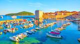 Old port of Dubrovnik - 241456363