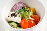 greek salad with feta - 241469173