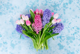 Hyacinth fresh flowers - 241483791
