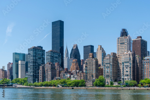 mata magnetyczna Skyline of Midtown Manhattan in New York City