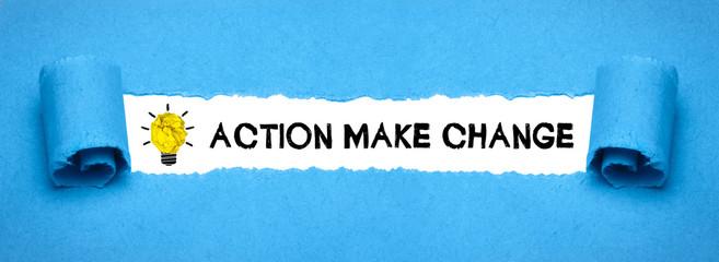 Action make change