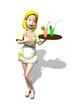 Sibyl serveuse
