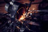 Circular metal sawing