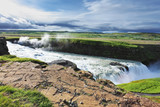 Grand Gullfoss in mid-July