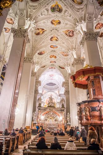 Gewölbe Kirche