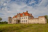 Estonia. Malla. On old manor under conservation.