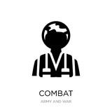 combat icon vector on white background, combat trendy filled ico - 241642330