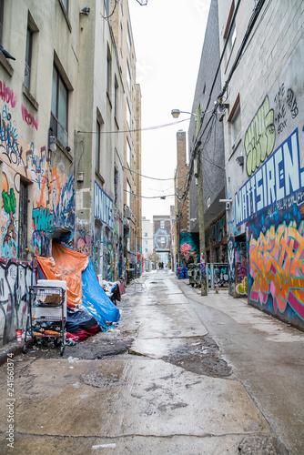 Graffiti Alley Toronto - 241660374