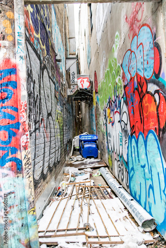 Graffiti Alley Toronto - 241660517