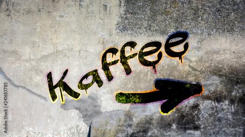 Schild 399 - Kaffee