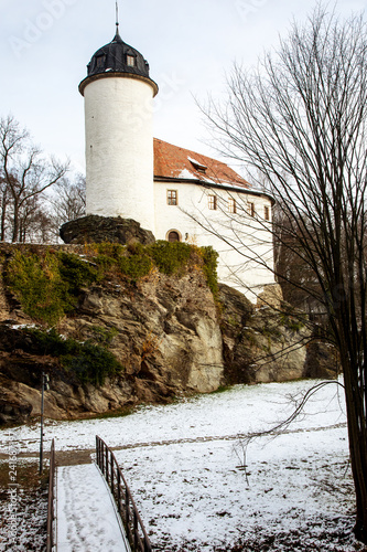 Castle Rabenstein in winter