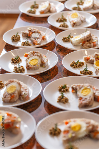 Aspic jellied meat - 241690178