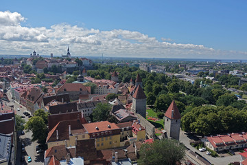 Blick über Tallinn