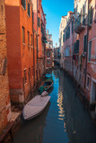 Water channels in the city of Venice